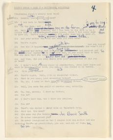 Alan Lomax Collection, Manuscripts, New York City, 1961-1962