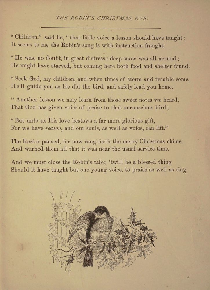 Image 15 of The robin's Christmas eve  | Library of Congress