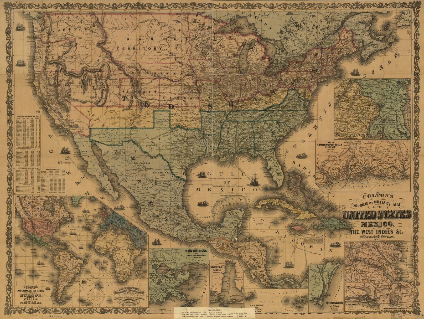 Railroad Maps 1828 to 1900 Library of Congress