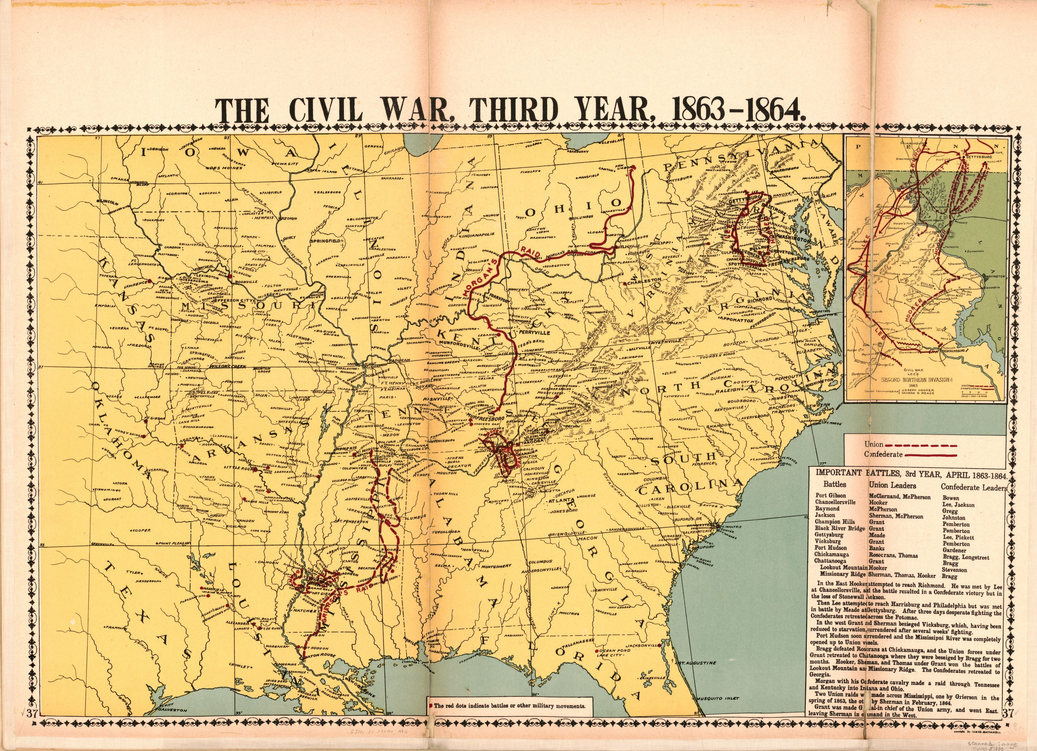 mcconnells historical maps of the united states library of congress