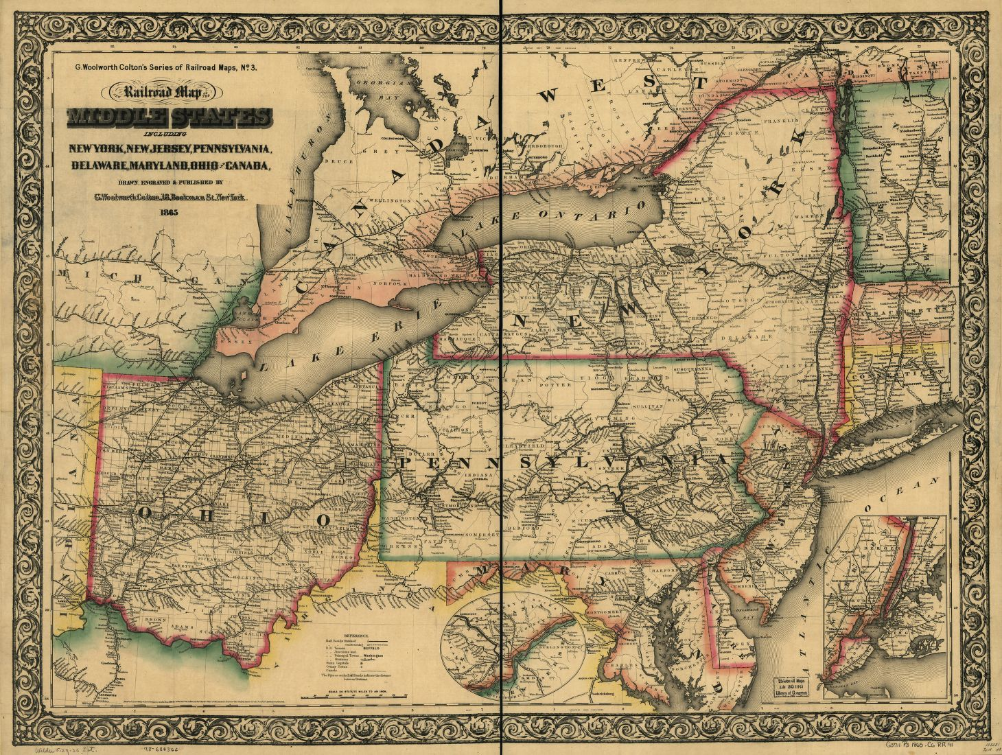 Hoyer Minnesota Map.Railroad Maps 1828 To 1900 Library Of Congress