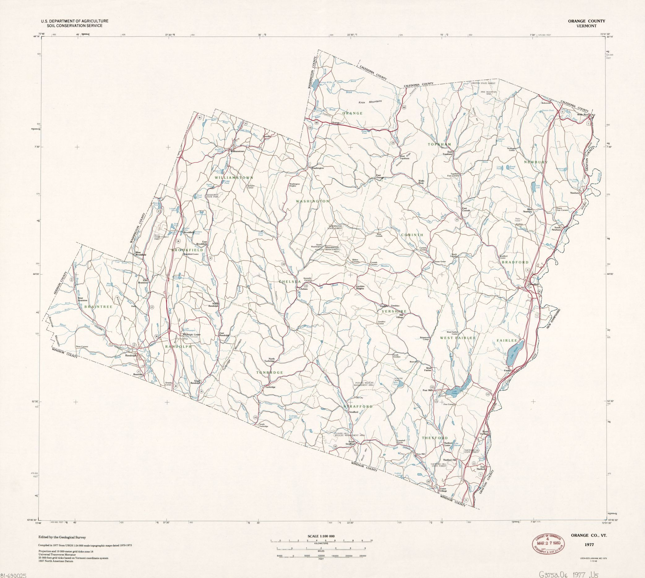 general maps united states soil conservation service library of congress