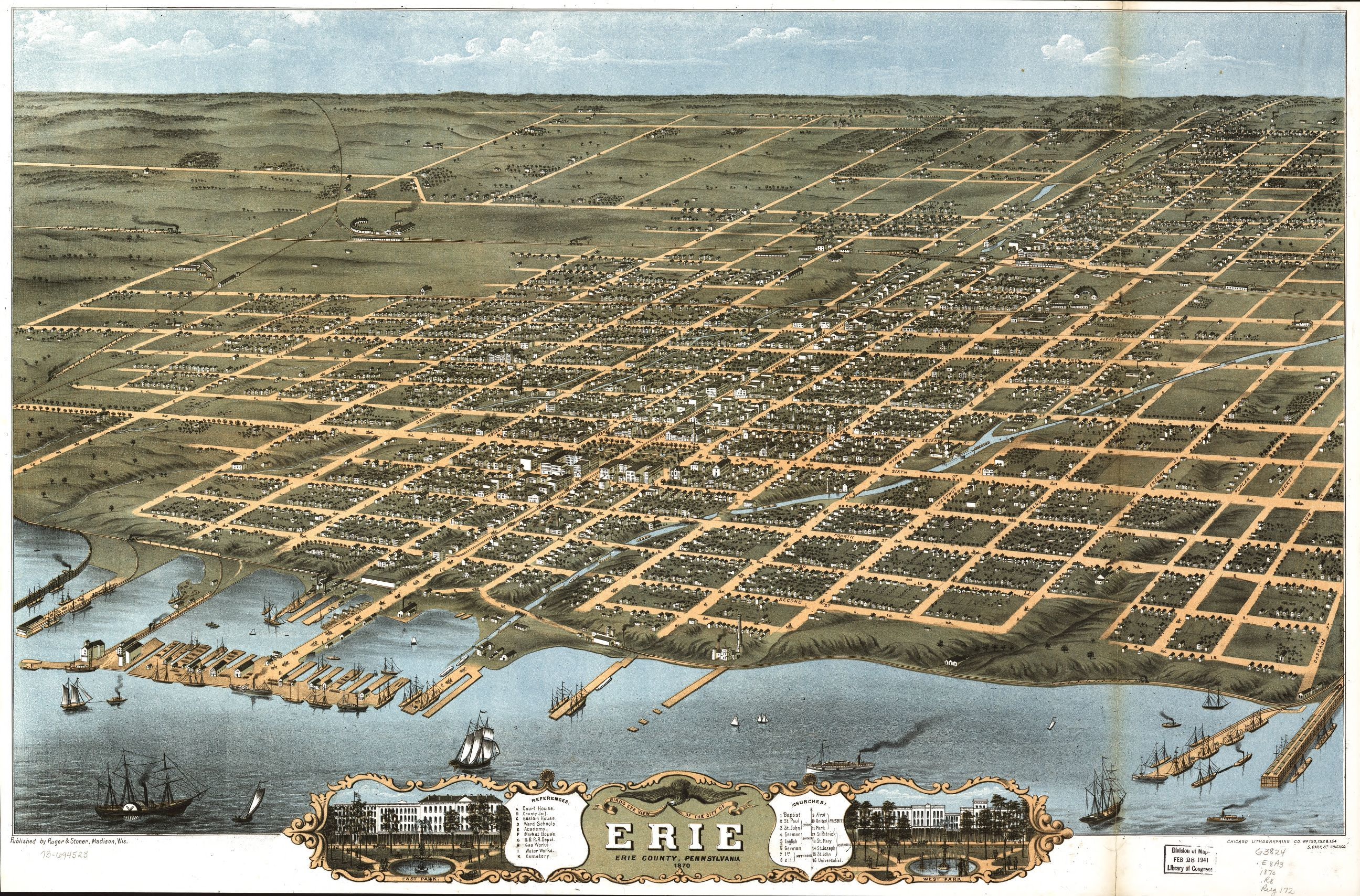 Bird's eye view of the city of Erie, Erie County ... on printable map of metro denver, printable map of anchorage, printable map of milwaukee, printable map of albany, printable map of greensboro, printable map of galatia, printable map of wichita, printable map of columbus, printable map of ann arbor, printable map of lake wallenpaupack, printable map of baton rouge, printable map of des moines, printable map of fort carson, printable map of greenville, printable map of quad cities, printable map of santa barbara, printable map of delaware water gap, printable map of lake of the ozarks, printable map of akron, printable map of salt lake city,