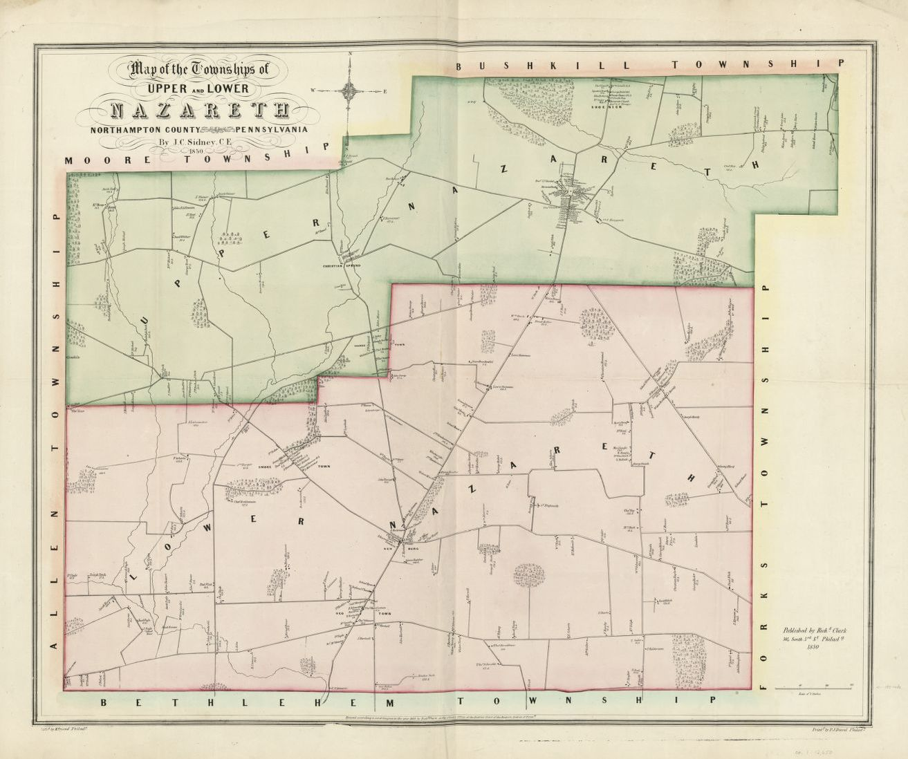 Map Landowners United States Library Of Congress