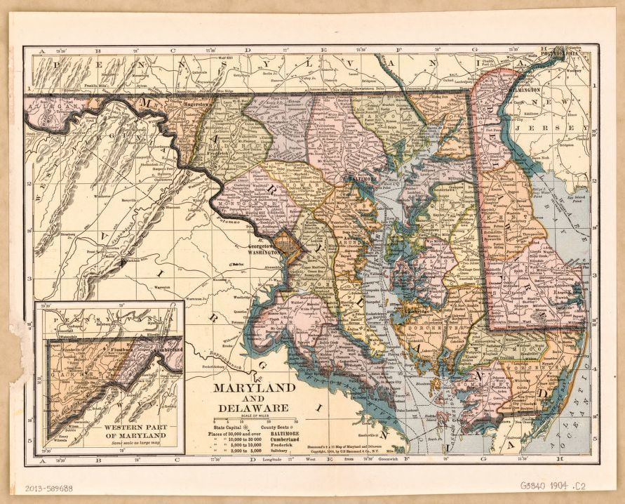 search results for map maryland library of congress
