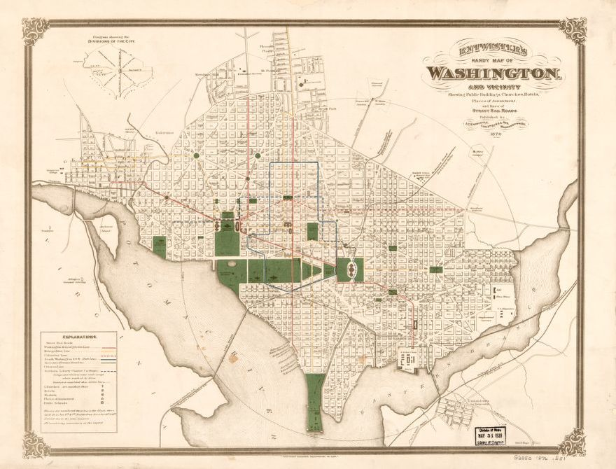 Map 1800 to 1899 Washington