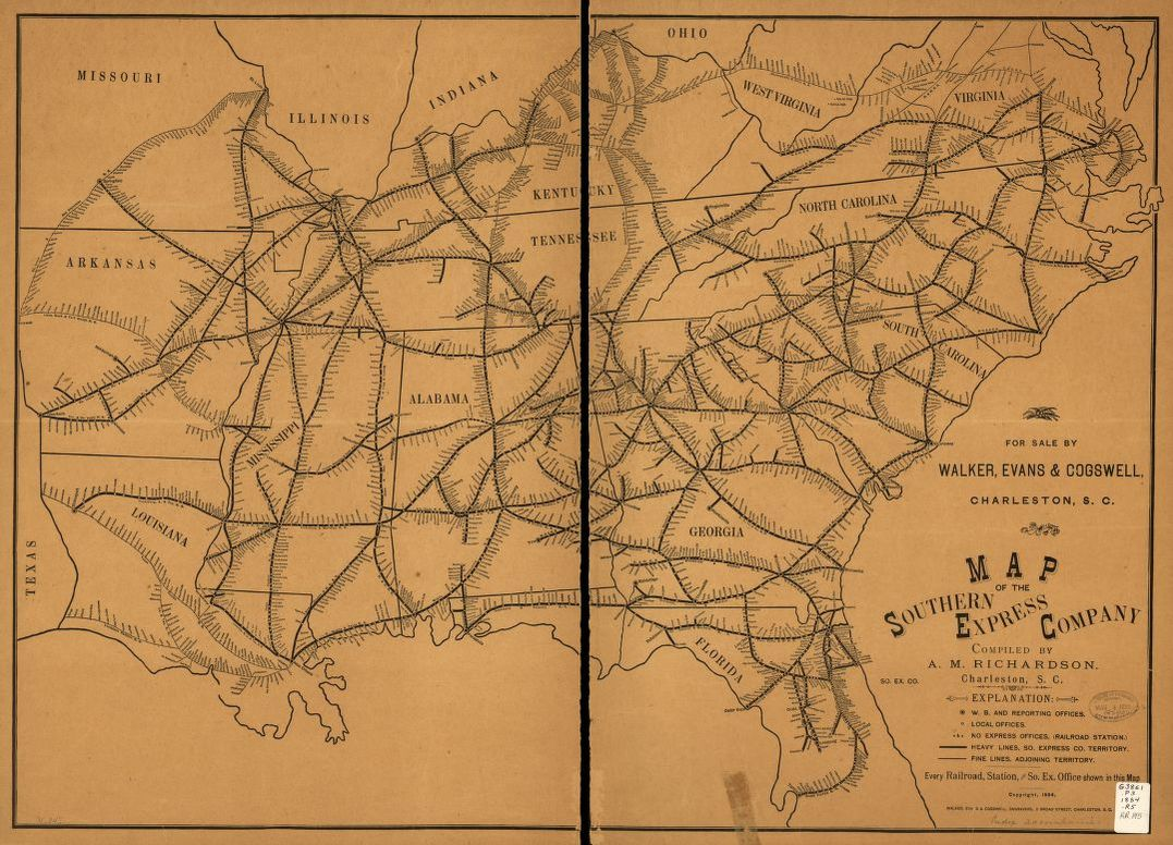 Railroad Maps, 1828 to 1900, Available Online | Library of