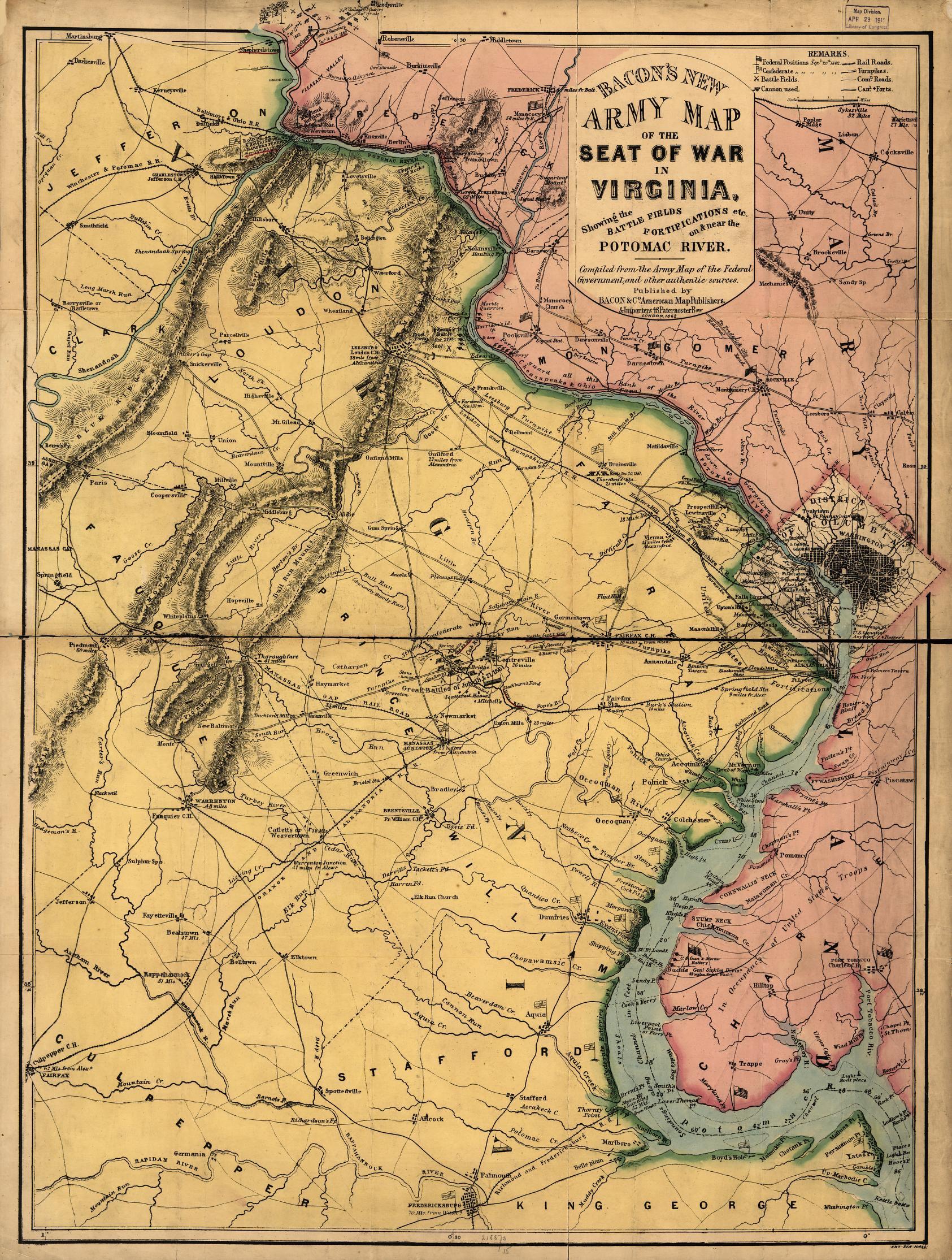 map virginia library of congress