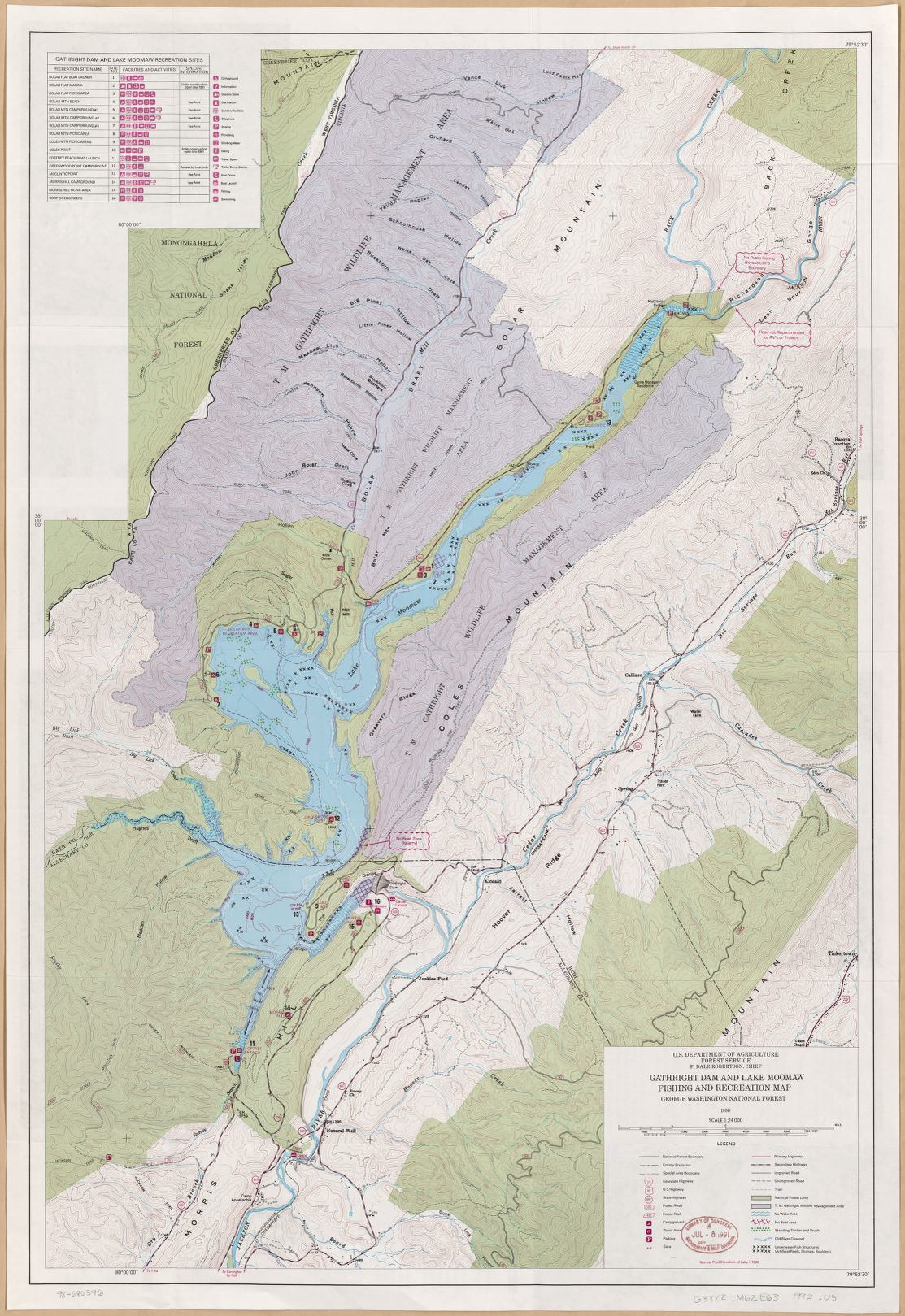 Map, Maps, Topographic, Outdoor Recreation | Library of Congress