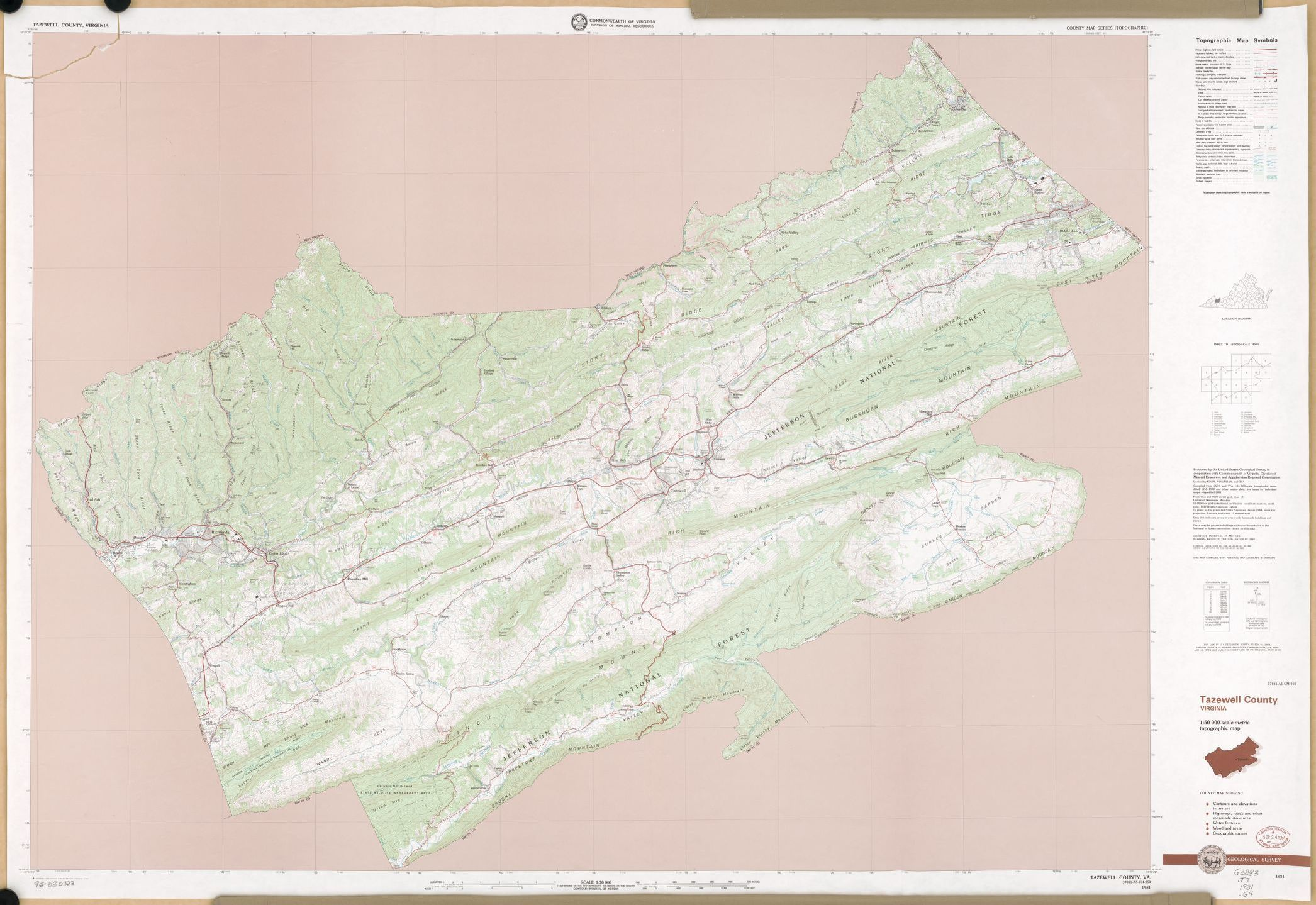 Map, United States, Geological Survey (U.S.) | Library of Congress
