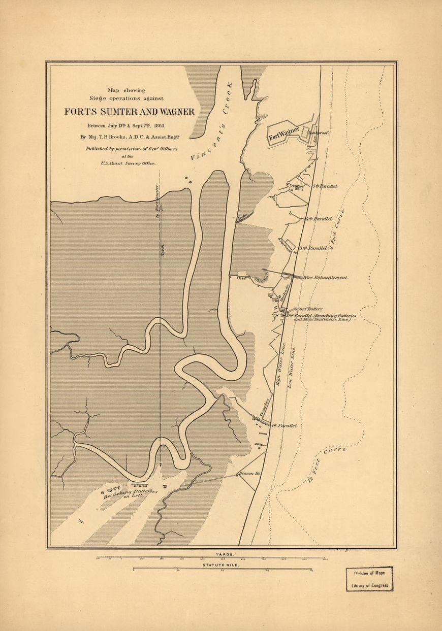 Fort Sumter On Us Map.Civil War Maps South Carolina Fort Sumter Library Of Congress