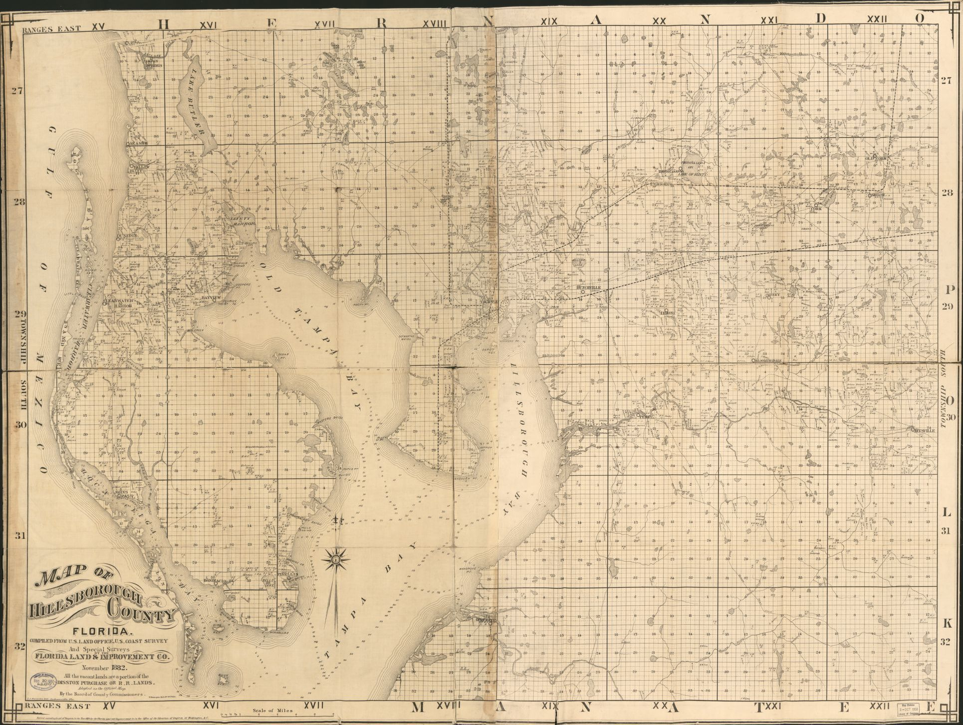 Map, Florida, Real Property | Library of Congress