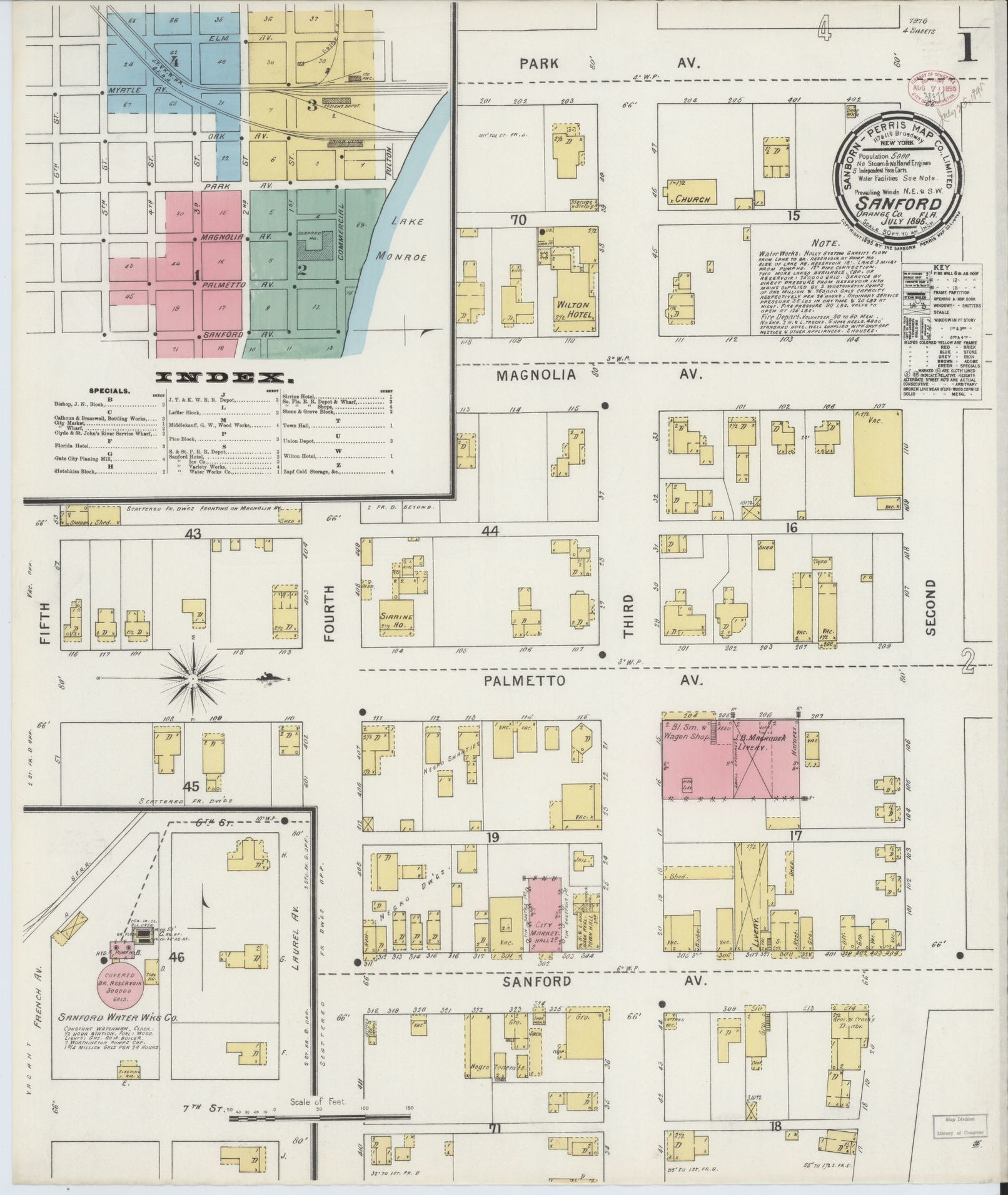 Map, Florida, Available Online | Library of Congress