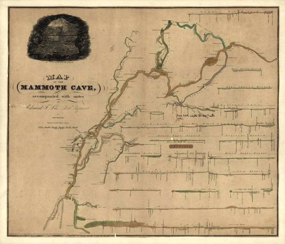 Map of the Mammoth Cave : Accompanied with notes | Liry ... Mammoth Cave Map on endless caverns map, cave junction oregon map, wind cave national park map, the land of painted caves map, mammoth caves tennessee, glacier national park, shenandoah national park, carlsbad caverns national park, yellowstone national park on a map, hawaii volcanoes national park, great smoky mountains national park, colorado river map, sequoia national park, crater lake national park, u.s. forest map, grand canyon national park, jewel cave national monument, badlands national park, bigfoot cave map, ky state parks map, mesa verde national park, petrified forest map, wonder cave map, acadia national park, cosmic cavern map, caves in new mexico map, black canyon of the gunnison map, sylvan cave map, timpanogos cave national monument map, hot springs national park, olympic national park, great onyx cave map, cuyahoga valley national park, yosemite national park, redwood national and state parks, cave of the winds map, wind cave national park, mountain river cave vietnam map,