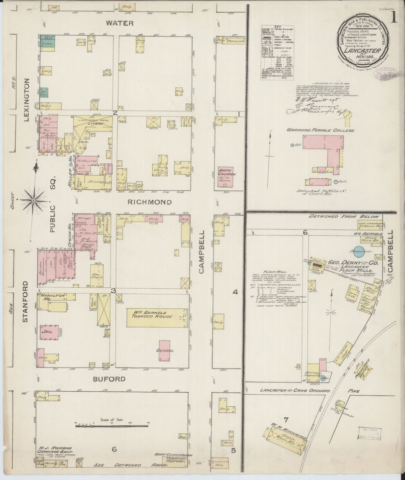 Map, Available Online, 1800/1899, Kentucky | Library of Congress
