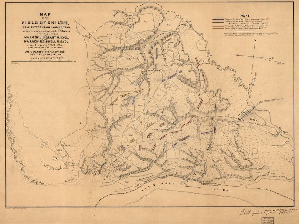 Map, Tennessee | Library of Congress