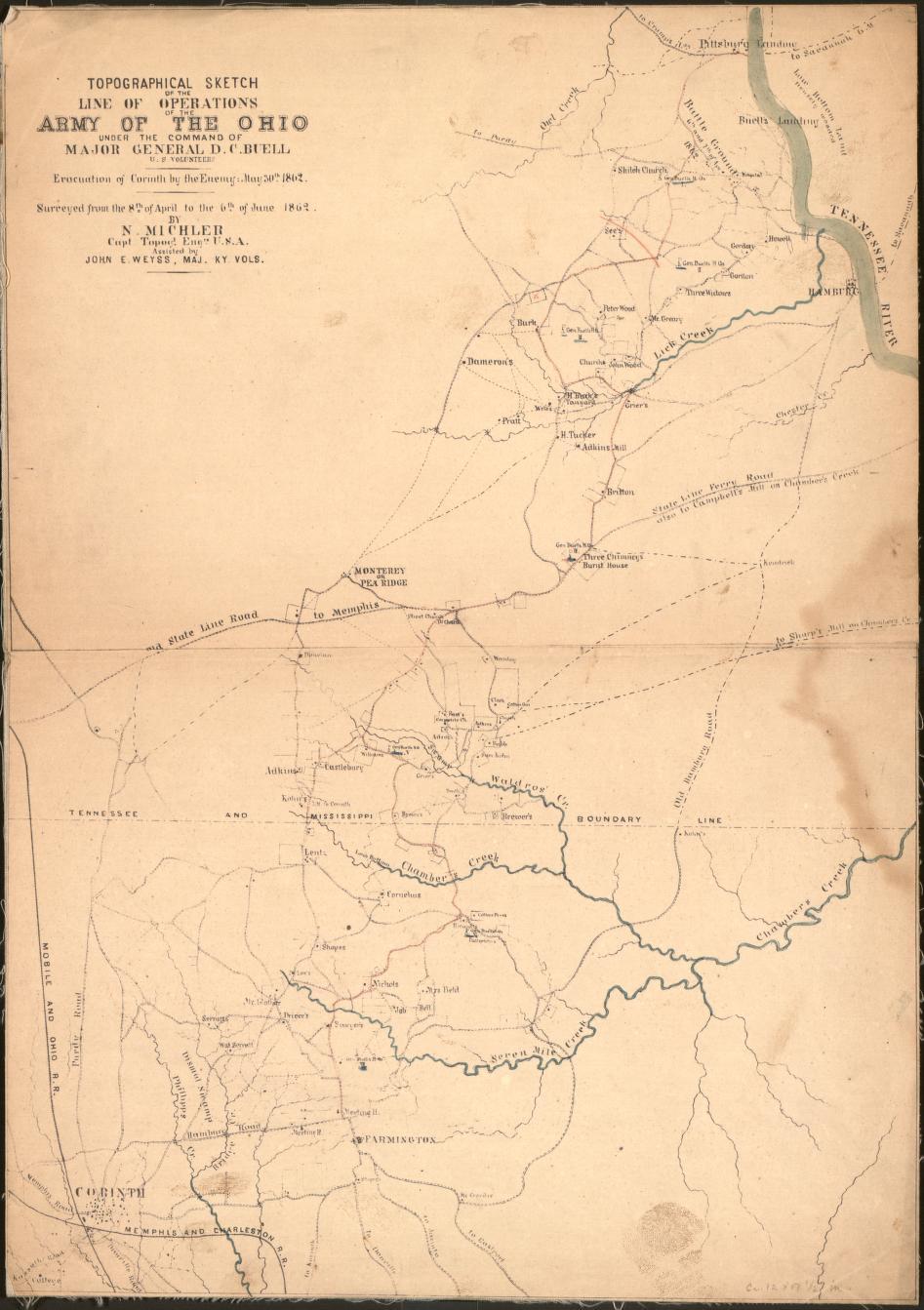 Civil War Maps Mississippi Library Of Congress Jackson Wiring Diagram For V