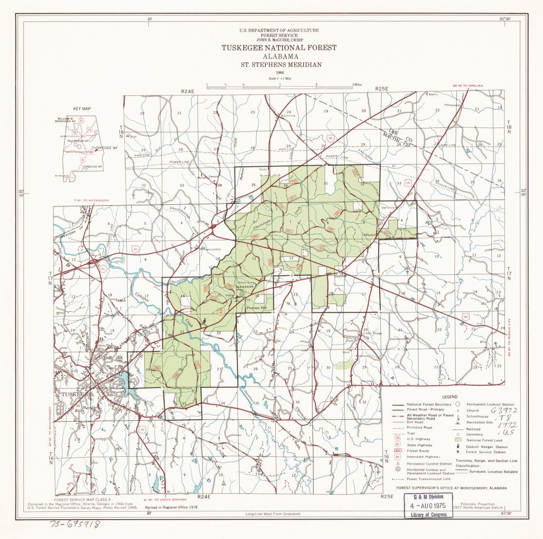 General Maps, United States. Forest Service. Southern Region ...