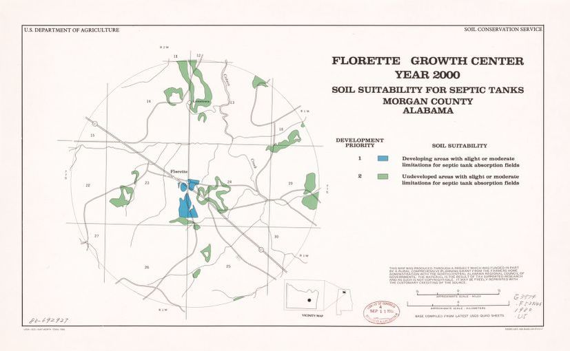 Map, 1900 to 1999, Alabama | Library of Congress