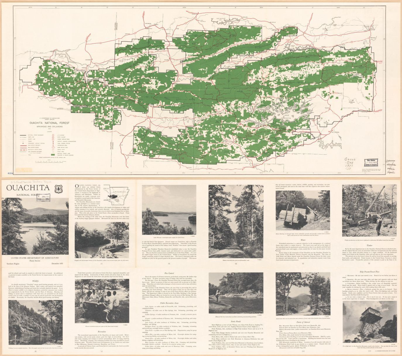 Ouachita National Forest, Arkansas and Oklahoma | Library of ...