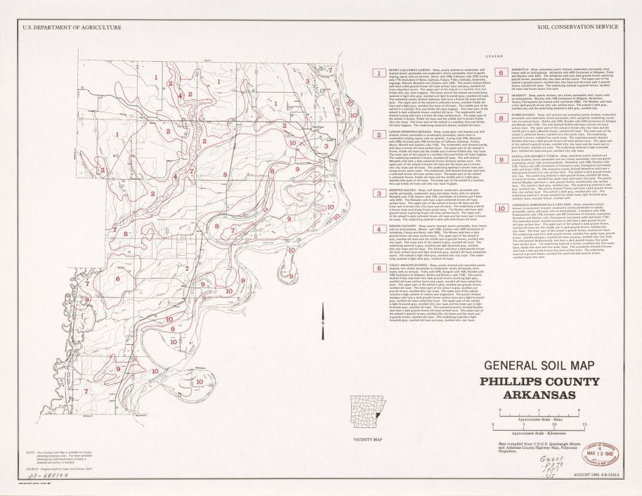 Map United States Soil Conservation Service Library Of Congress