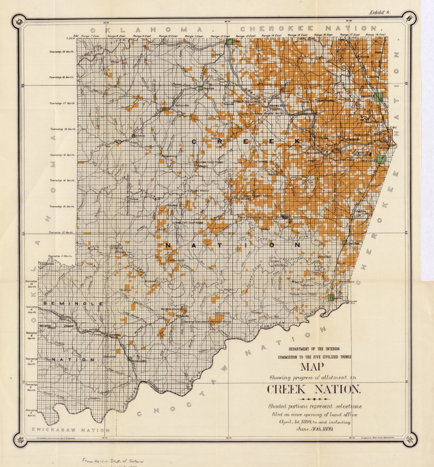 search results for map oklahoma 1800 to 1899 library of congress