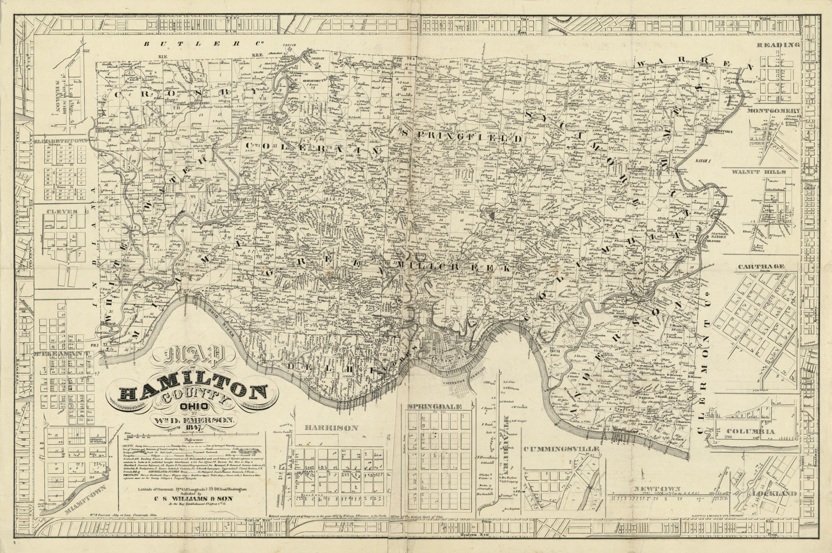 Map 18401849 library of congress publicscrutiny Image collections