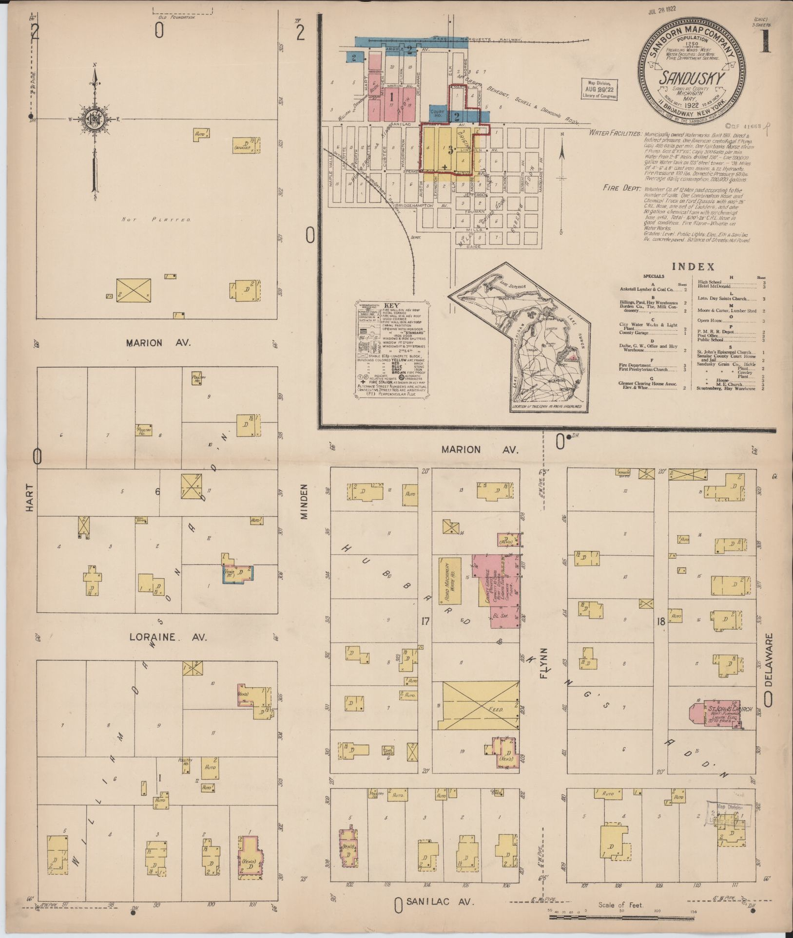 Map, Michigan, Sanilac County | Liry of Congress on sanilac michigan, saginaw county township map, ann arbor road map, detroit road map, united states road map, iosco county plat map, lansing road map, huron county township map, sanilac co mi map, washington township road map, richmond road map, michigan road map, sanilac county mi township map, port sanilac map, sanilac county government, michigan county map, port huron mi map, battle creek road map, auburn road map, sanilac county clerk,