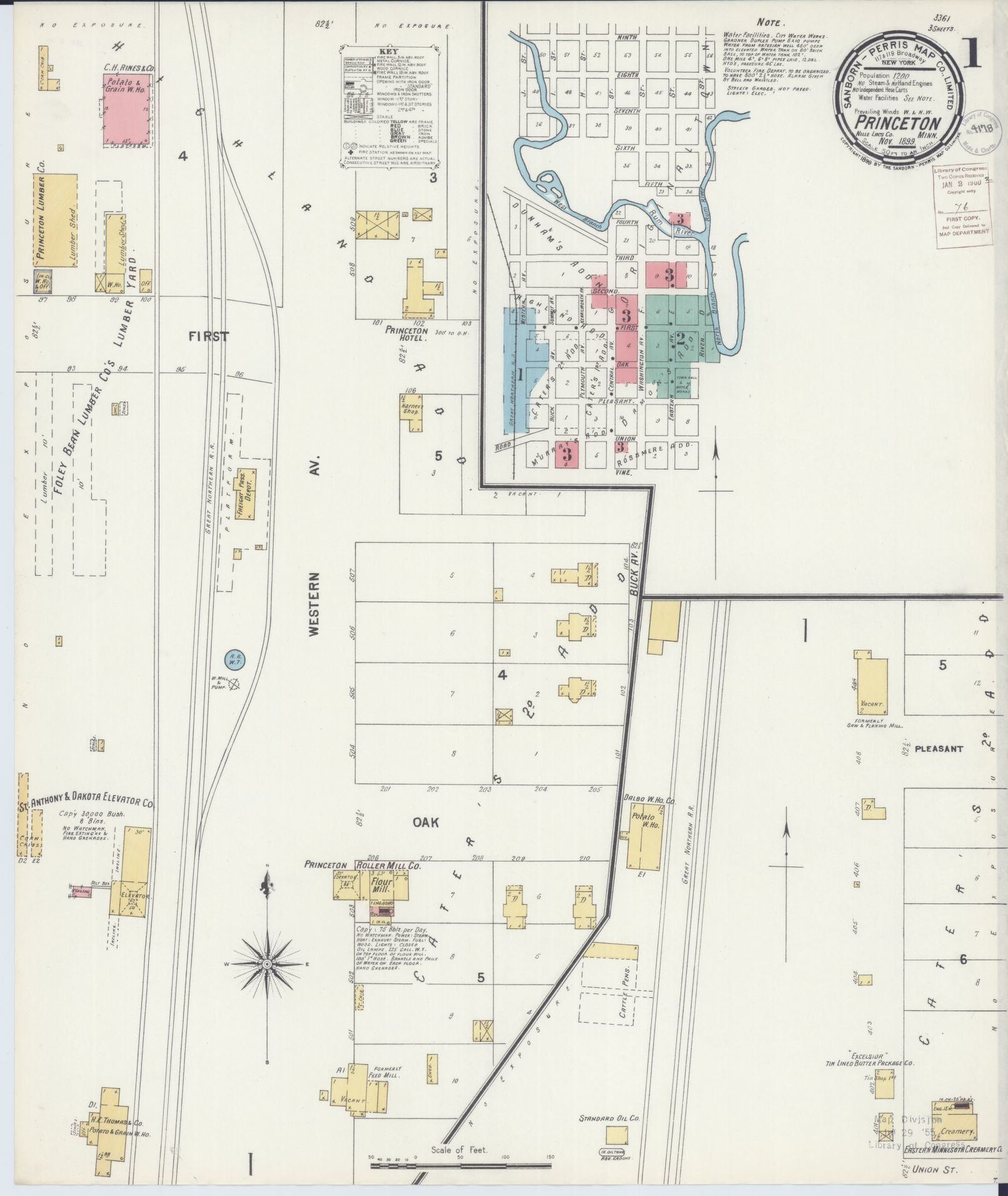 Sanborn Maps, Available Online, 1800/1899 | Library of Congress