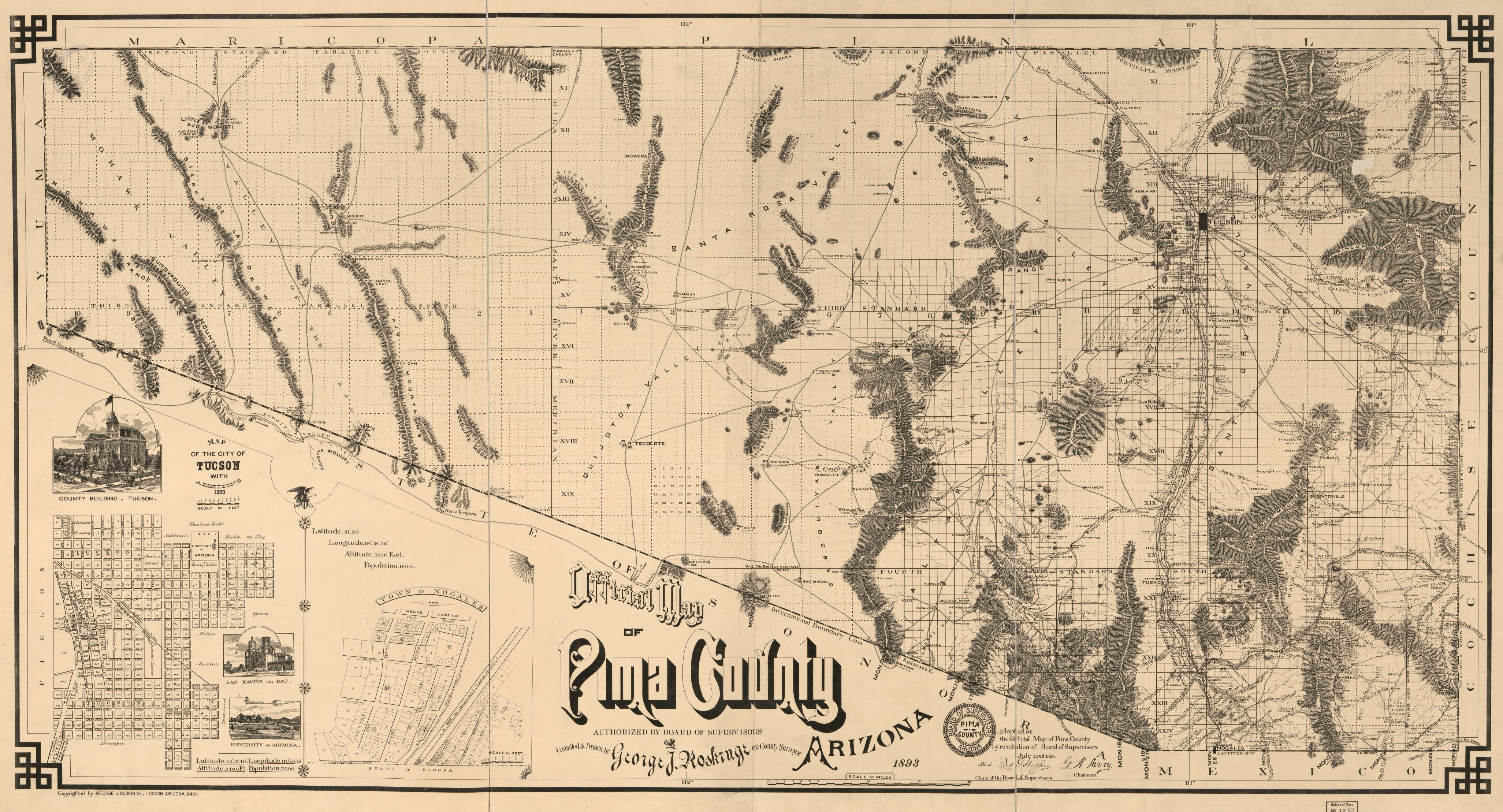 Map Of Arizona 1880.Map Available Online 1800 To 1899 Arizona Library Of Congress