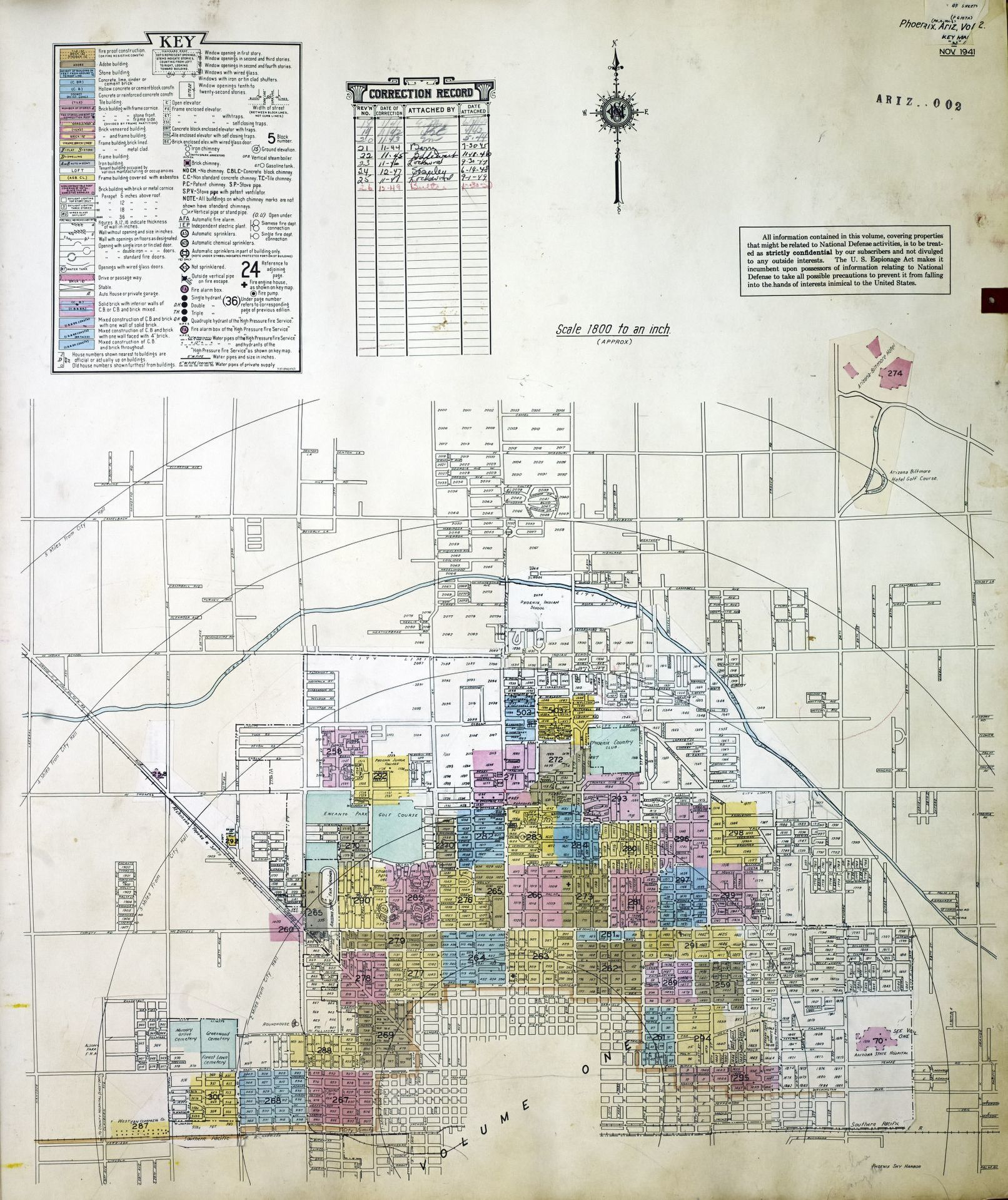 Search results for Map, Arizona | Library of Congress