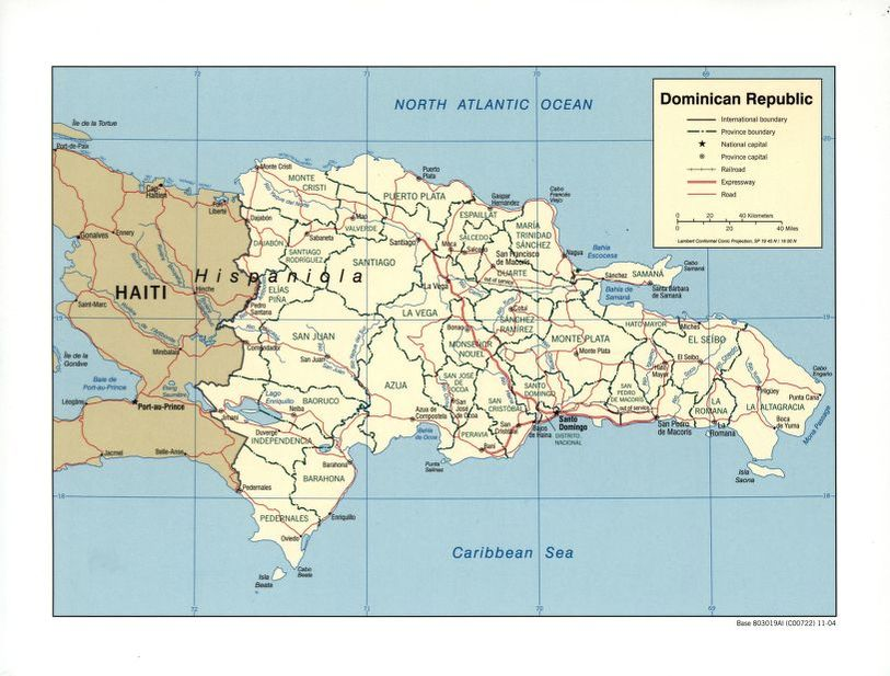 Search results for Map, Dominican Republic | Liry of Congress on
