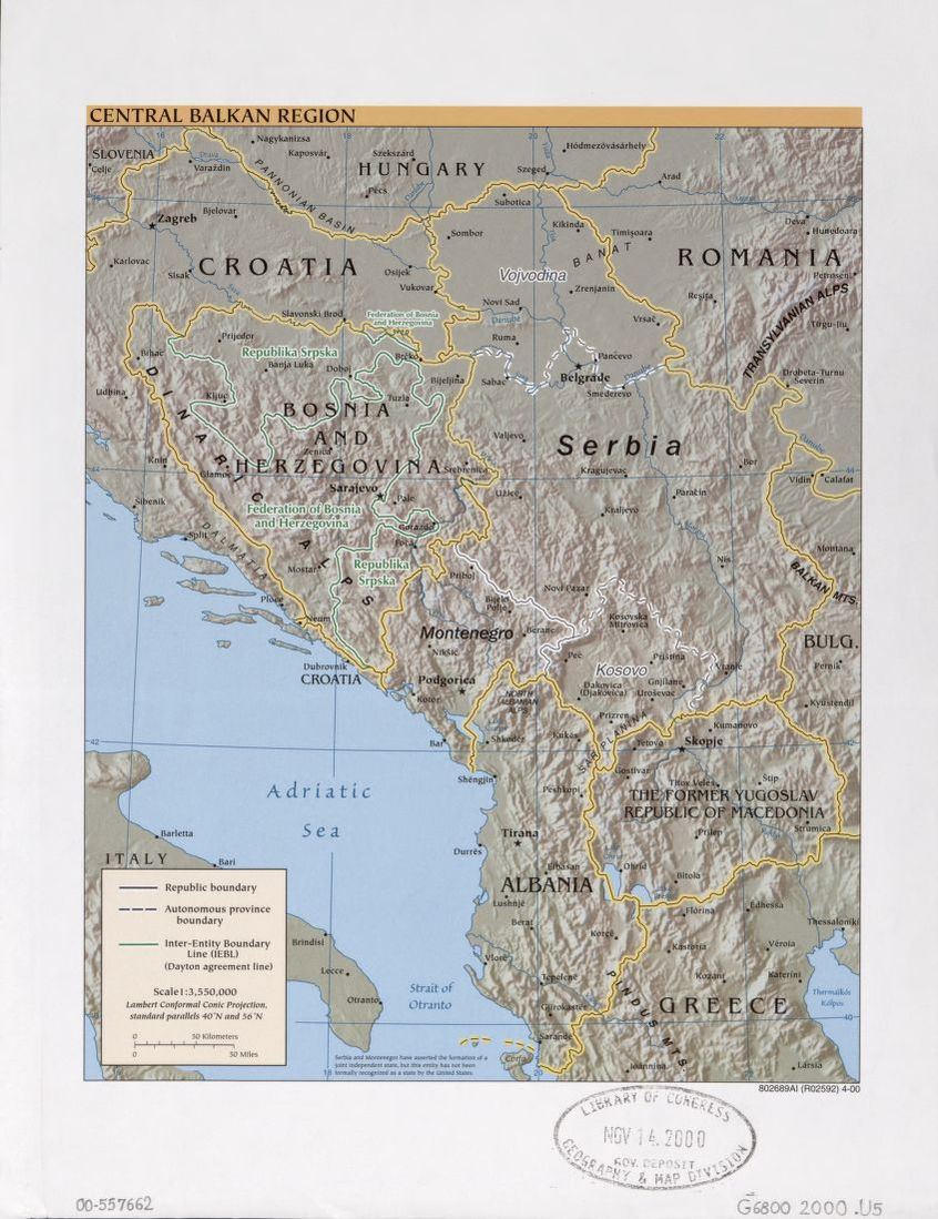 Search Results For Map Croatia Balkan Peninsula Library Of