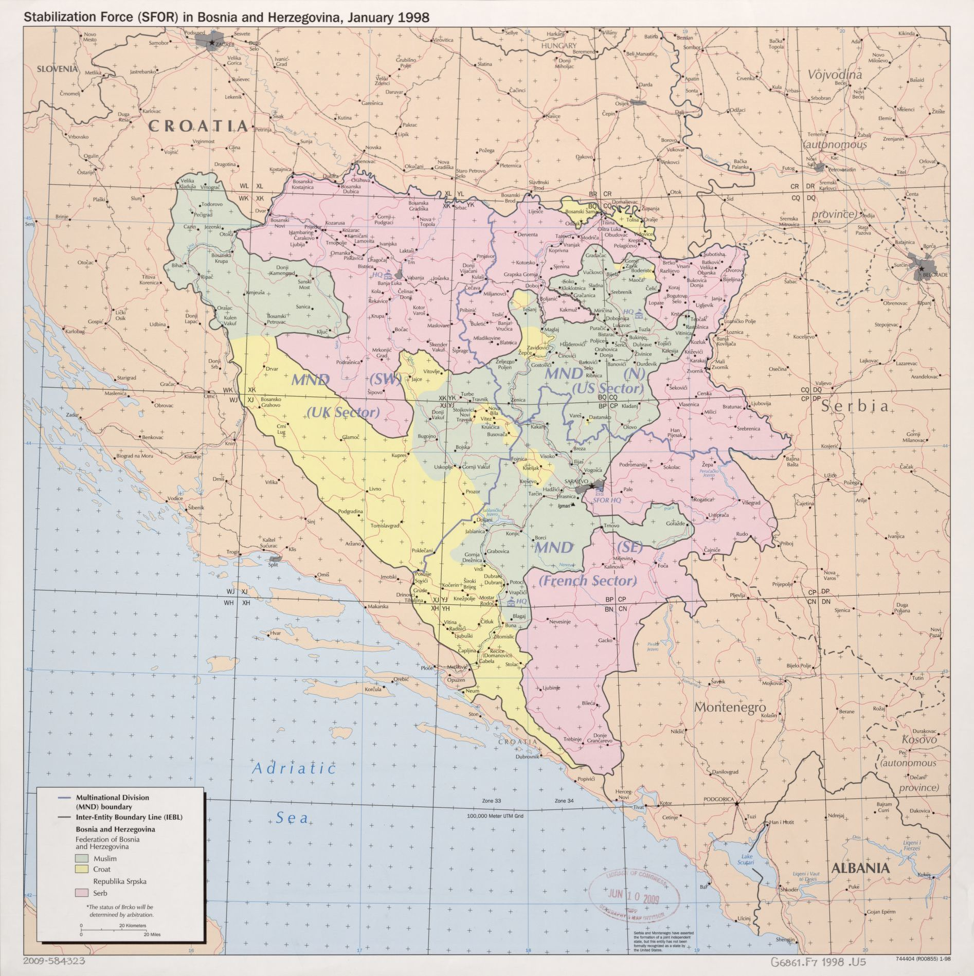 Search results for Map Bosnia and Herzegovina Library of Congress