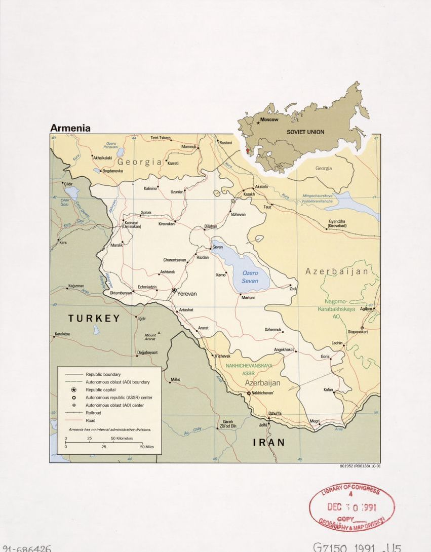 Search results for Map, Armenia | Library of Congress