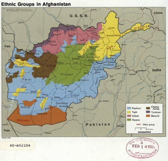 Ethnic groups in Afghanistan. | Library of Congress