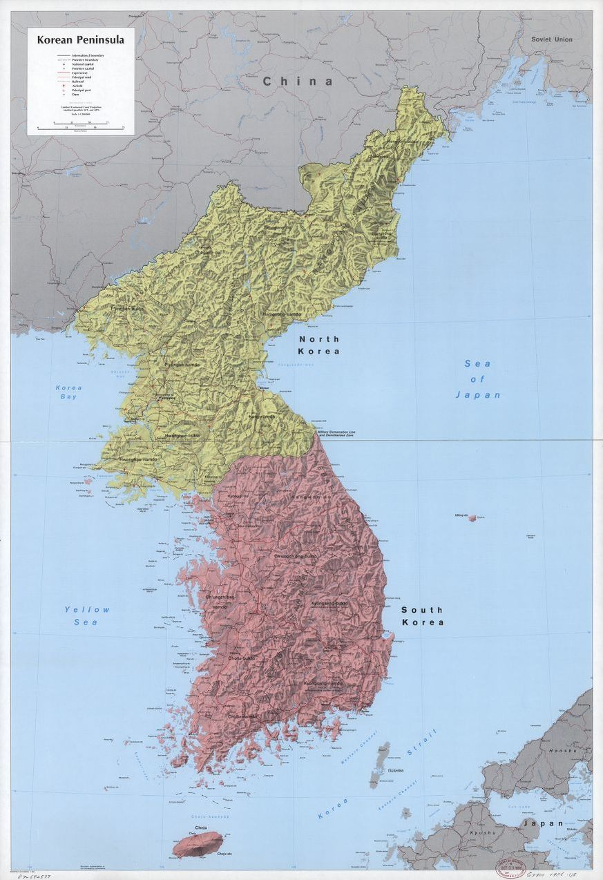 Korean Peninsula. | Liry of Congress on mongolian plateau map, yellow sea map, florida bay map, indonesia map, taklamakan desert map, gulf of tonkin map, luzon strait map, pacific ocean map, mu us desert map, tatar strait map, qinghai lake map, bo hai map, goryeo map, korea water park, monaco bay map, mexico bay map, korean empire map, grand canal map, south bay map, mekong river map,