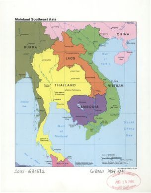 Mainland southeast Asia. | Library of Congress