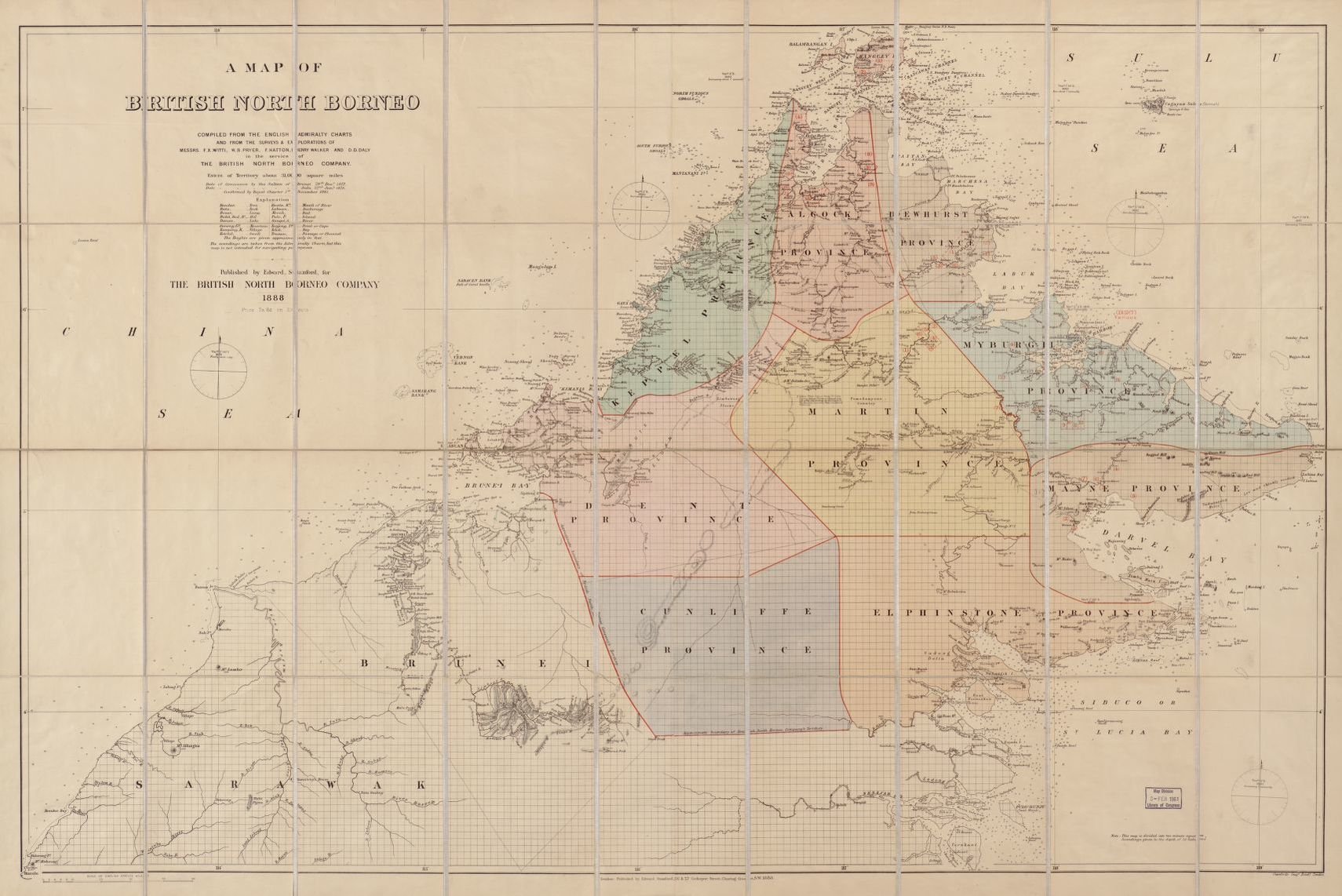 Search results for Map, Brunei | Library of Congress