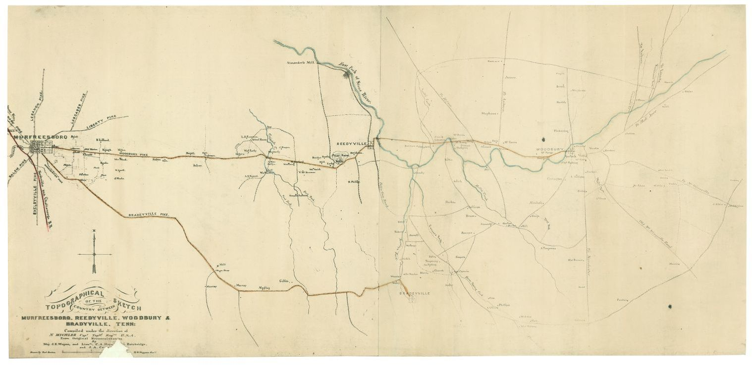 Civil War Maps, Tennessee | Library of Congress