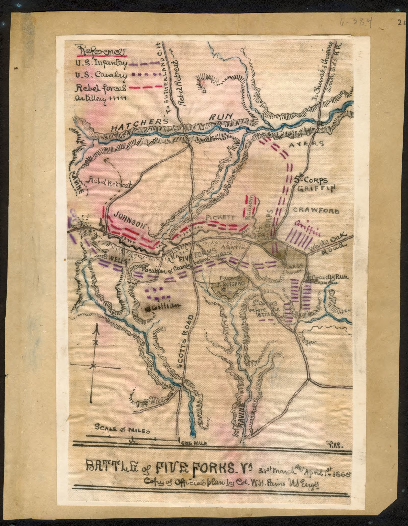 Civil War Maps, Dinwid County, Civil War | Library of Congress on