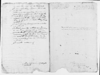 Brief filed on 9-9-1641 before Pedro Fabra, notary public, in the case between the Reverend Bautista Carrera against Juan Albert, concerning ecclesiastical privileges.
