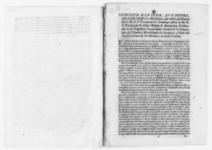 Exchange of letters between Friar Domingo Alda and Friar Pedro Martir de Buenacasa, His Majesty's Preacher, Archbishop of Zaragoza and Prior of the Monastery of Preachers of Zaragoza, concerning the former's request to dismiss any charges against him for misuse of funds in the construction of a new church. [June 28, 1692].