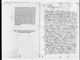 Royal Order of June 22, 1635 decreeing the attachment of all assets and properties of French nationals in Spain.