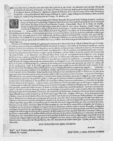 Royal Decree of February 22, 1717 ordering the payment of certain taxes to the inhabitants of the village of La Bisbal.