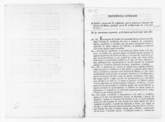 Partial regulations of the Royal Order of June 3, 1817 on maritime health vessels subject to maritime quarantine shall dock in the port of Mahon on the island of Menorca.