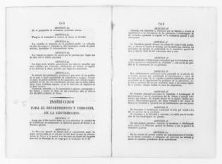 Instruction of June 1, 1817 concerning the general collection of taxes.