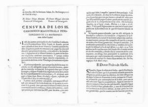 Legal opinion by the Canons of the Metropolitan City of Zaragoza, concerning dowry clause in the articles of marriage executed between the Count of Aranda and his deceased wife, the Countess Luisa Manrique y Padilla.  [April 9, 1647].
