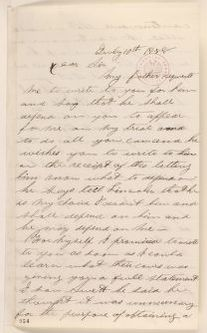 Abraham Lincoln papers: Series 1. General Correspondence. 1833-1916: E. O. Hill to Abraham Lincoln, Saturday, July 10, 1858 (Legal)