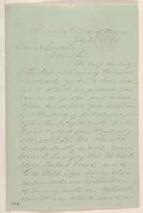 Abraham Lincoln papers: Series 1. General Correspondence. 1833-1916: Benjamin C. Lundy to Abraham Lincoln, Tuesday, July 20, 1858 (Invitation)